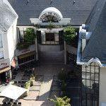 image représentant la mairie du point de vue du Beffroi de l'église