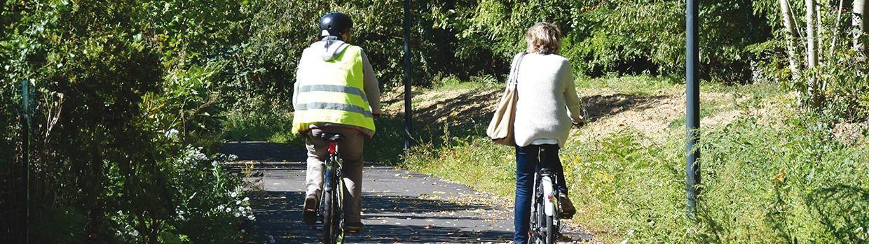 Bandeau de la page 'Le vélo en ville