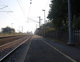 Vue de la gare de Noyal-sur-Vilaine