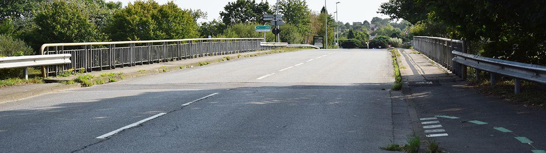 Bandeau de la page 'Info travaux : aménagement d'une voie verte